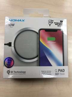 Momax Q.pad fast wireless charger white 無線充電 白色