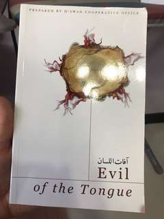 Evil of the tongue