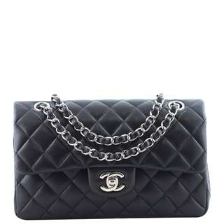 Authentic Chanel Classic Double Flap Bag Small