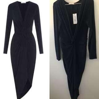 Sheike latitude long sleeve dress