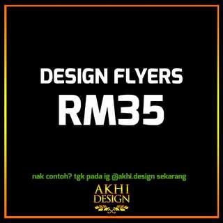UPAH DESIGN FLYERS (TRIFOLD)