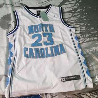 Jordan North Carolina Jersey for sale