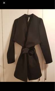 Black Indikah Coat size 10