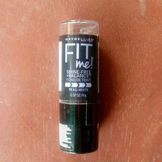 [FREE SF] Maybelline Fit Me Foundation Stick (Shade: Buff Beige)