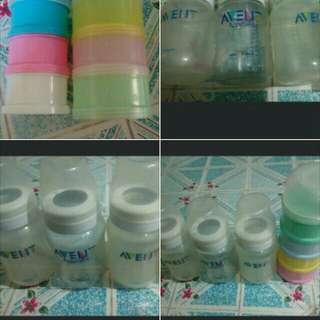 Original Avent Bottles Plus 3 Milk Dispenser (Free)