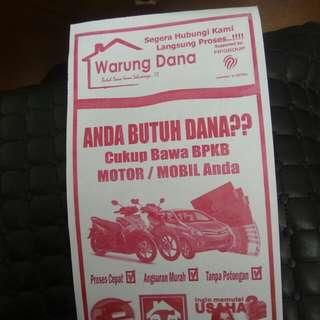 Pinjaman Dana Tunai Jaminan BPKB