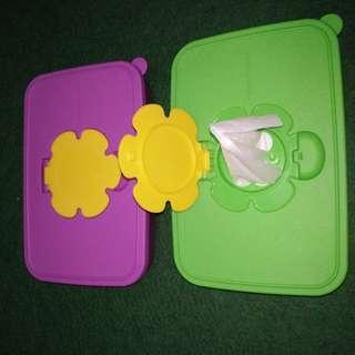 Tupperware Tissue Box Small
