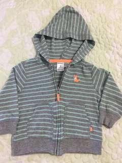 carter's hoodie jacket ( 9 mos.)