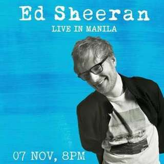 Looking for 2 Ed Sheeran Patron C Tickets