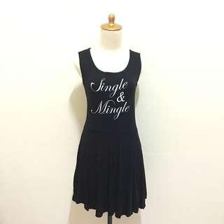 Single mingle black dress