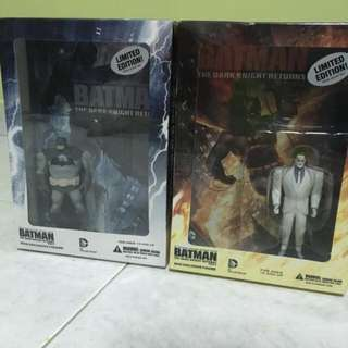 Batman The Dark Knight Returns Part 1&2 Limited Edition Dvd And Figurine Brand New!