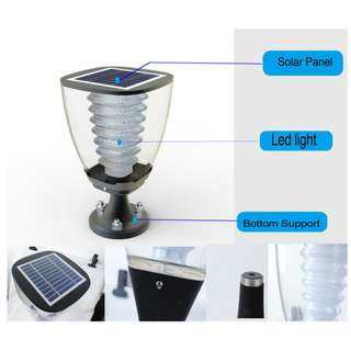 GT-ESL15 Solar Post Light