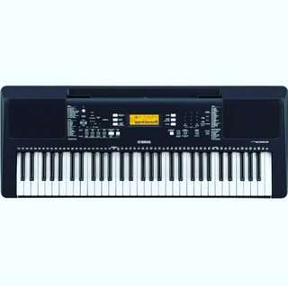 Yamaha Keyboard + Adaptor (PSR-E363)