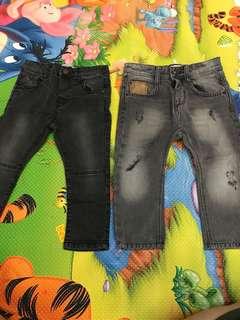 Zara boy skinny jeans