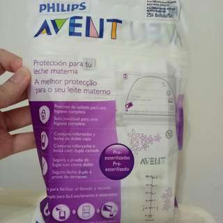 Philips Avent Disposable Breast Pad  /Avent Milk Storage Bag