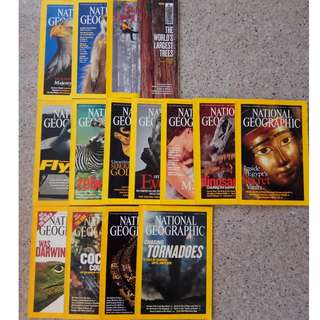 National Geographic Magazine (2002 - 2015) Cheap