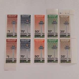 Singapore Changi Airport Stamps