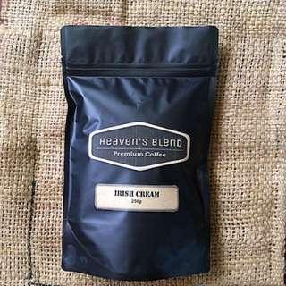 Heaven's Blend Coffee IRISH CREAM 250g