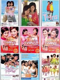 【徵收】Twins/蔡卓妍/鍾欣潼絕版未拆封、二手帶貼紙CD/VCD/DVD/唱片及演唱會海報Poster/演唱會週邊