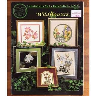 Wildflowers - Cross My Heart Inc - Counted Cross stitch pattern/design book