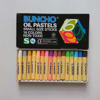 Buncho Oil Pastel Crayons