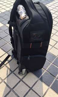 2 n 1 backpack & trolley camera bag