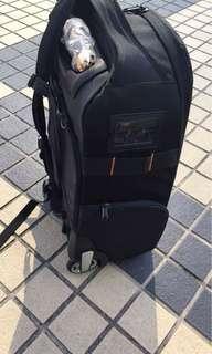 2 n 1 backpack & trolley camera bag