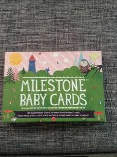 Baby Milestones Card
