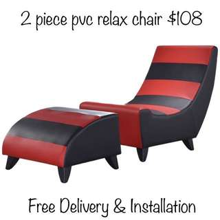 2 piece pvc relax chair