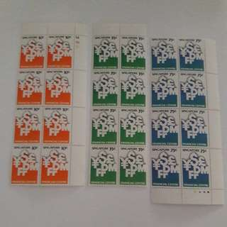 Singapore Financial Centre Stamps