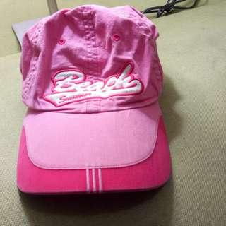 正韓 粉紅色 棒球帽