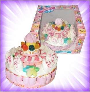 Marshmallow Birthday Cake (Pink)