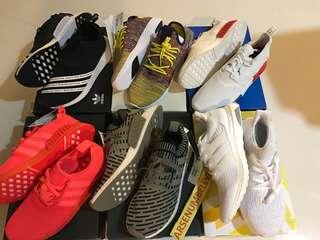 Adidas Pharrell human Nmd ultra boost ub