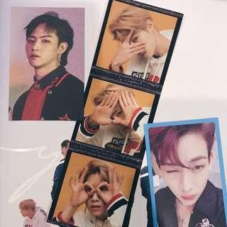 (WTT) GOT7 Eyes On You photocards / film strip