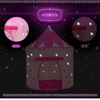Play tent glow in the dark good quality size:135×105 cm