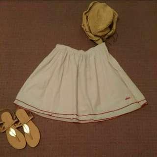 全新 美國帶回 etnies 俏麗 紅點 圓裙 短裙 3