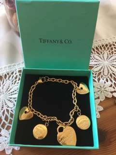 Authentic Stainless Steel Tiffany &Co. Bracelet