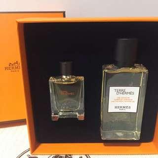 全新愛馬仕 香水 試用裝 精美版本 未使用 旅行裝Three Hermes Perfume Sample