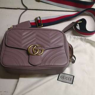 gucci marmont bag nude pink