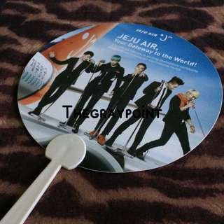 Bigbang Daesung Jeju Air Signed Fan