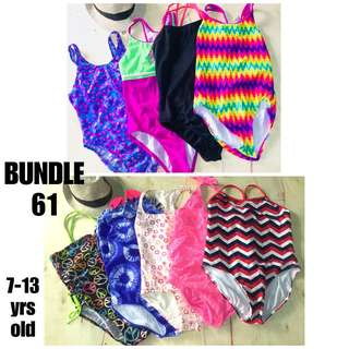 BRANDED KIDS 7-12 years old SWIMWEAR SWIMSUIT BUNDLE