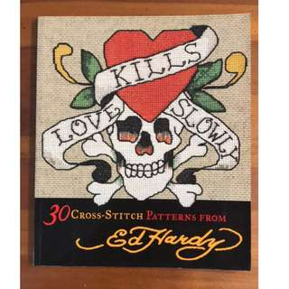 Love Kills Slowly - 30 Cross Stitch Patterns book
