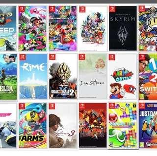 (Buy)(收)switch games