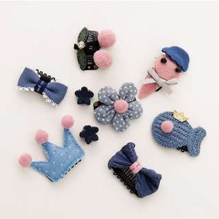 Korean style hair pins and clips suitable for baby and kids