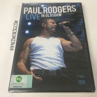 [DVD] Paul Rodgers - Live In Glasgow