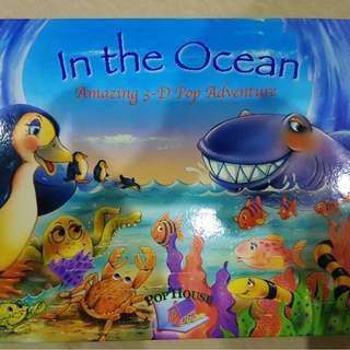 THEATER OCEAN BOOK POP ADVENTURE IMPORT 3 D