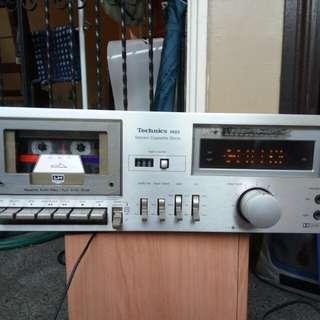 Technics M22 stereo cassette deck from japan