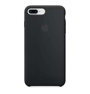 Black Silicone- iPhone 7/8 PLUS