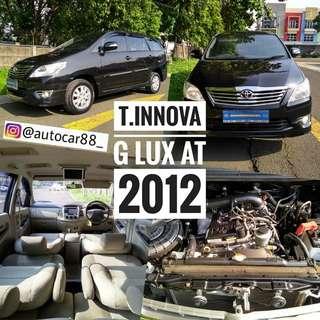 FS : TOYOTA INNOVA G LUX AT BENSIN 2012