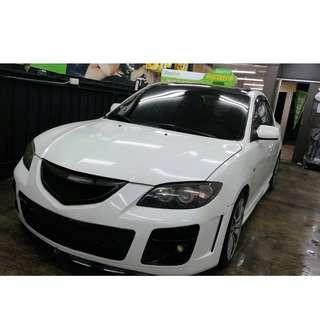 !!保證實車實價!! 馬3  Mazda3  04年  白色  1600cc  預售16.0萬  可議